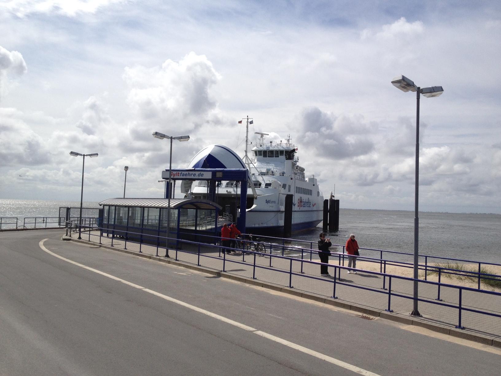 Webcam: Livebilder vom Fähranleger am Lister Hafen