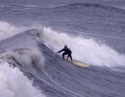 Wellenreiten auf Sylt